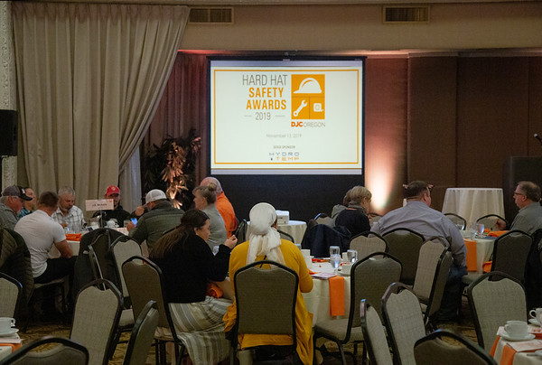 Daily Journal of Commerce 2019 Hart Hat Safety Awards (Sam Tenney/DJC)