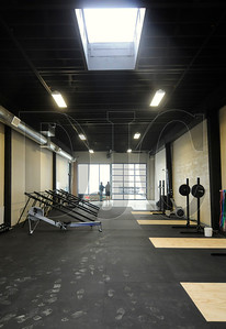 A building on the 1400 block of Northwest Flanders Street has been divided into five units, one of which will be occupied by a CrossFit fitness center.  Sam Tenney/DJC