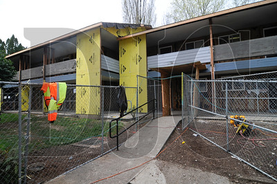 General contractor LMC Construction is renovating a 48-unit HUD apartment complex in Beaverton. The Carleton Hart Architecture-designed remodel of the Spencer House Apartments includes all new utilities, a full exterior renovation including new insulation, sheeting, siding, and roofs, and minor interior upgrades. Work on the project began last month, and is expected to last through July.