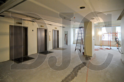 Skyline Interiors is remodeling a floor of the 620 Building on Southwest Fifth Avenue in downtown Portland for Myhre Group Architects. Work on the 7,360-square-foot space includes the addition of walls, repair of the ceiling, doors, glazing, casework, flooring, HVAC system, lighting, sprinklers, and finishes. The work was designed by Myhre Group, and is slated for completion by the end of April.
