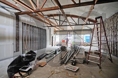 Siteworks Design | Build is performing a tenant improvement on a 1,622-square-foot space at 2035 N.W. Overton for ISITE Design, a digital advertising agency. The space will become an incubator for upstart businesses and will connect to ISITE's next-door space via an overhead door that is being installed on a common wall. Other work includes finishing drywall surfaces, minor trim work, and installation of conduit for data lines. The eight-week project is slated for completion this month.