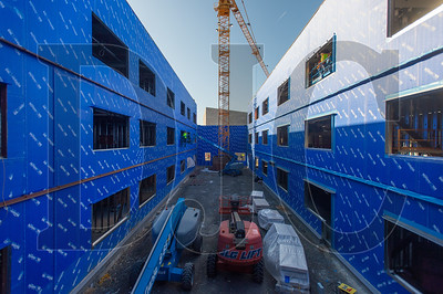 The new building will contain a secure central courtyard. (Josh Kulla/DJC)