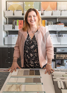 Nicole Schmidt is the founder and executive director of krowdsourced, a Portland-based materials library. (Josh Kulla/DJC)