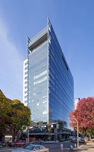 An Iowa-based investor has purchased the 11-floor office portion of the 19-story Broadway Tower building in downtown Portland. (Sam Tenney/DJC file)