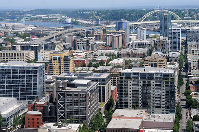 Portland's office market showed first-quarter net absorption of 112,667 square feet, according to a Jones Lang LaSalle report. (Sam Tenney/DJC file)