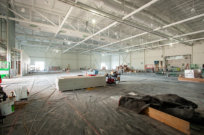 The 13,000-square-foot main exhibit hall can be subdivided into numerous smaller spaces. (Josh Kulla/DJC)