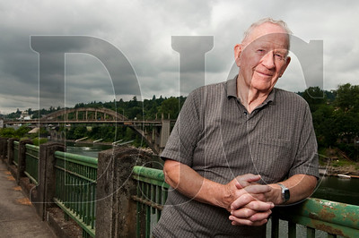 John Williams, a former mayor of Oregon City, is collecting signatures for a ballot measure that would require major urban renewal decisions in Clackamas County to be put to go before voters.