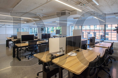 Custom coworking spaces can be configured to host from one to dozens of individuals. (Josh Kulla/DJC)