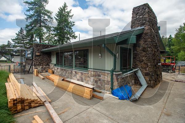 A former McCormick & Schmick's restaurant building in Beaverton is being transformed into a Montessori school. (Josh Kulla/DJC)