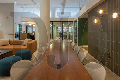 The space features a variety of collaborative common areas. (Josh Kulla/DJC)