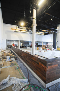 The Oregon Museum of Science and Industry's café is undergoing an extensive remodel. The 9,100-square-foot space will officially reopen Jan. 31 with the name Theory and will feature sustainably sourced and mostly local foods. General contractor Todd Construction is performing the work, which includes installation of two grill stations, a large pizza oven, and bar, a remodeled pation, and new flooring, finishes, and lighting. The remodel was designed by Soderstrom Architects and California-based EDG Interior Architecture and Design.