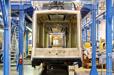 United Streetcar, a subsidiary of Clackamas-based Oregon Iron Works, is set to deliver five new streetcars within the next two weeks, with the first slated to begin operation in Portland Dec. 16.
