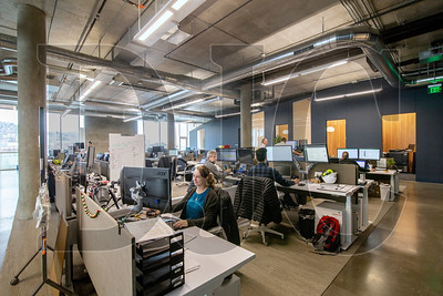 Turner Construction Co. recently moved its Portland office to the top floor of a new six-story office building at Southwest 12th Avenue and Morrison Street. (Sam Tenney/DJC)