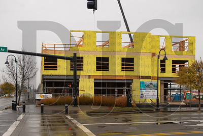 Rockwood Rising is being built at the intersection of Southeast Stark Street and 187th Avenue in Gresham. (Josh Kulla/DJC)