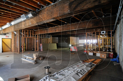 A third-floor space in the 419 Building on Southwest 10th Avenue is being renovated pro bono by multiple contractors for the Portland Institute for Contemporary Art.