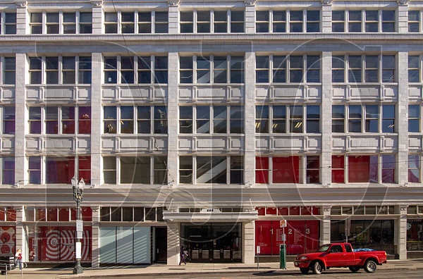 The full-block Galleria building in downtown Portland was sold last month to a partnership including Unico Properties. (Sam Tenney/DJC)