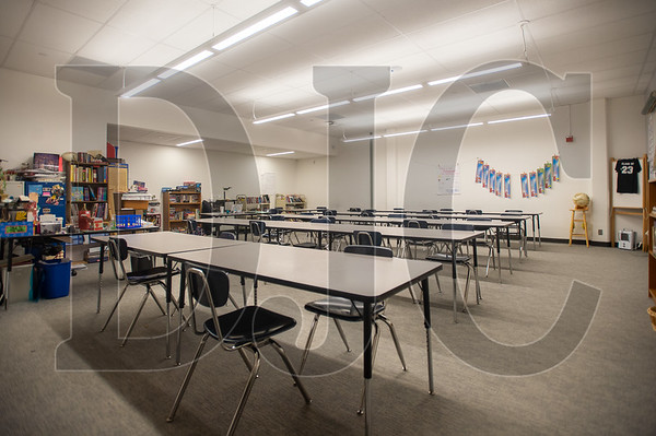 A new classroom was completed during Phase 2 of the project. (Josh Kulla/DJC)