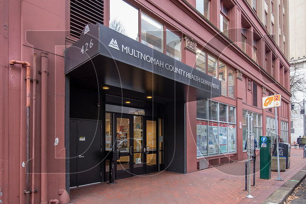 Renovation work will begin later this year on the Gladys McCoy Building, which Multnomah County has sold to Urban Renaissance Group and Gaw Capital USA. (Sam Tenney/DJC)