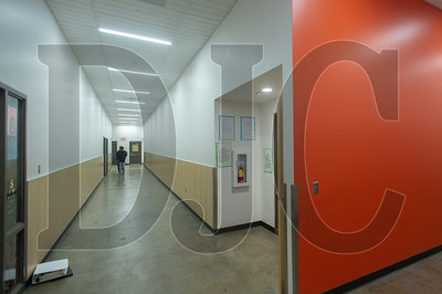 A new wing of classrooms has been built in the place of a former auxiliary gymnasium. (Josh Kulla/DJC)