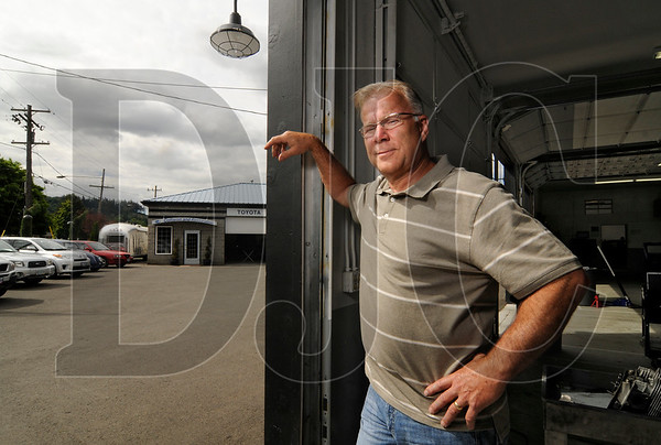 "Damascus Mayor Steve Spinnett, pictured at his Portland auto repair business, supports an initiative by a local citizens group to require voter approval on any city planning document required by the state or Metro.  ""I'm in complete support of what Ask Damascus is doing because the ballot box is the ultimate public involvement,"" said Spinnett."