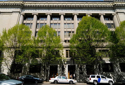 """The Multnomah County Courthouse, built between 1909 and 1914, has been been placed by the Historic Preservation League of Oregon on its """"2013 Oregon's Most Endangered Places"""" list. A 2011 report produced by SERA Architects estimated that the cost of renovating the structure would be between $163 million and $201 million."""