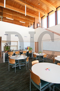 The facility's concept room is a space designed for conceptualizing new products and holding customer meetings.