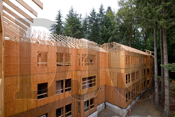 The three-story wood-framed will have 48 assisted living units.