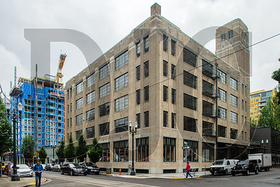 A portion of a building at 1010 N.W. Flanders St., in Portland, is now being occupied by Skanska USA Building. (Josh Kulla/DJC)