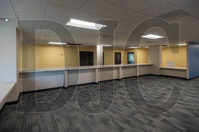 A refurbished space will be occupied by up to 100 employees of the Land Use & Transportation and Building Services departments. (Josh Kulla/DJC)