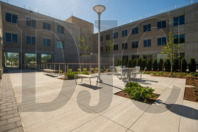 A new employee patio was constructed on the west side of the building. (Josh Kulla/DJC)