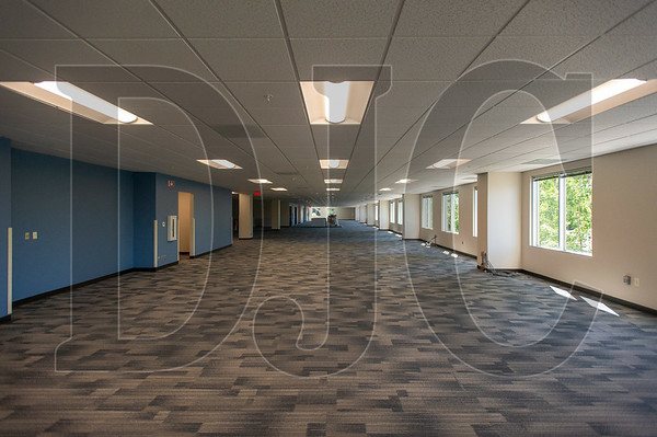 """The county's Land Use & Transportation and Building Services departments will occupy a refurbished space with new """"soft"""" security measures and capacity for over 100 employees. (Josh Kulla/DJC)"""