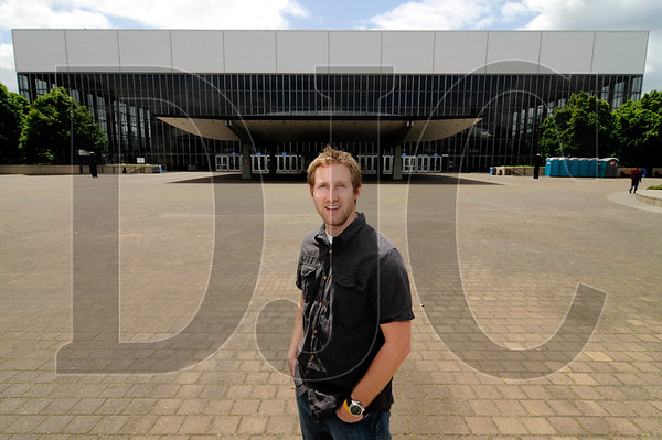 Tim Lawrence, founder of Beaverton-based Digital Works Productions, is part of a group looking to convert Veterans Memorial Coliseum to a soundstage for film and television productions.