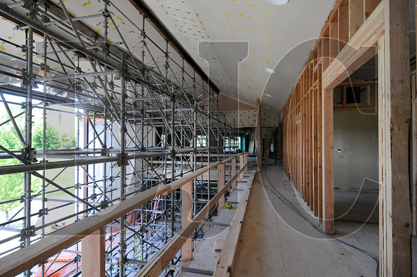A former community center in Happy Valley is being remodeled and expanded to serve the Sunnyside Village Public Library.  Seabold Construction is performing the work for Clackamas County from a design by Scott | Edwards Architecture.  Work on the nine-month project began in late February, and includes a 4,500 square-foot expansion of the building, a full remodel, structural reinforcements, and an additional parking lot.