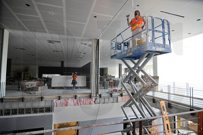The building's open design will allow natural light to permeate the interior and provide views between cardio and weight areas and adjacent fitness classrooms.