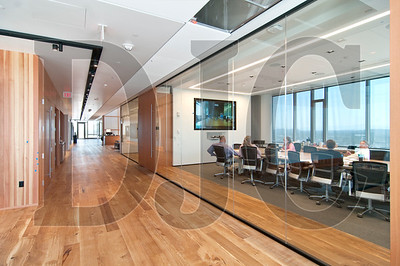 Two of the firm's 13 floors are comprised almost entirely of conference room space.