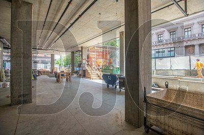 The main entrance of the Hyatt Centric Portland will be located along Southwest 11th Avenue, and a restaurant operated by a local restaurateur will be located on the ground floor's northeast corner. (Josh Kulla/DJC)