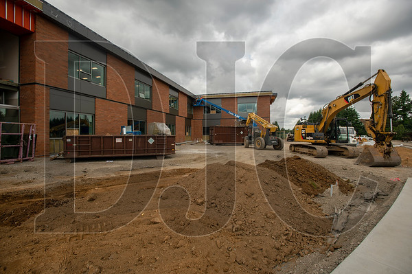 The two-story expansion will include 20 new classrooms. (Josh Kulla/DJC)