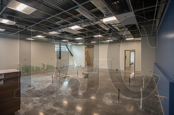 A science laboratory is part of the new space included in the $54 million expansion. (Josh Kulla/DJC)