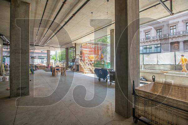 The main entrance of the Hyatt Centric Portland will be located along Southwest 11th Avenue. (Josh Kulla/DJC)