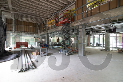 The building's ground floor will contain amenity space including multiple eateries, a general store, theater, health and fitness areas and community space. (Sam Tenney/DJC)