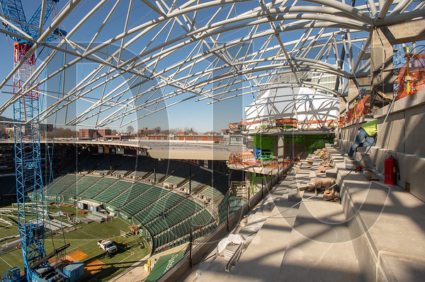 The view from the third deck of the new east grandstand at Providence Park is going to be spectacular. (Josh Kulla/DJC)