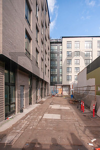 A courtyard will provide residents with access to Northwest 22nd Avenue and Quimby Street. (Josh Kulla/DJC)