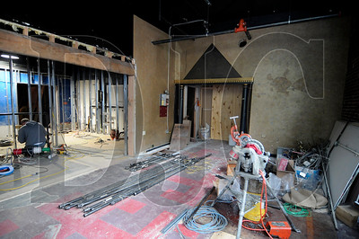 The Voodoo Donut store in downtown Portland is undergoing a renovation that includes expansion of the store's space.