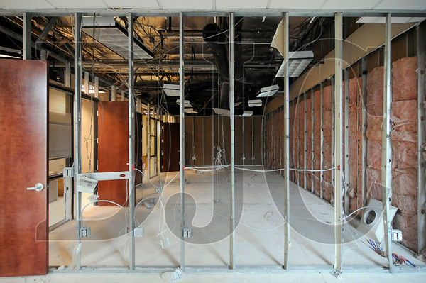 A multi-purpose room at the future LifeQual Center will be furnished with a top of the line audio/video system and soundproof walls.