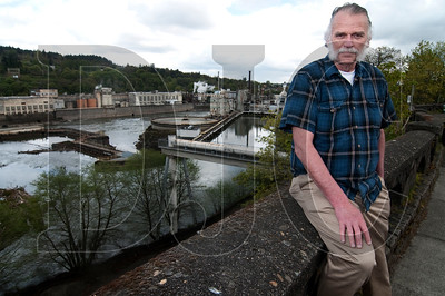Oregon City Mayor Doug Neeley is excited about the opportunites presented by potential new development on the former Blue Heron mill site.