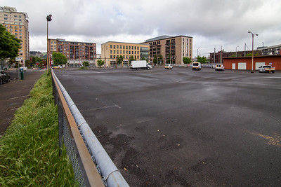 Block 24 in Old Town Chinatown is being targeted for redevelopment. Prosper Portland is set to purchase the property for $8 million. (Sam Tenney/DJC)