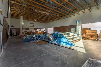 The new school will contain a full-size gymnasium. (Josh Kulla/DJC)