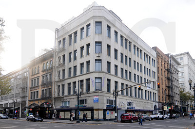The Oregon Pacific building at 404-418 S.W. Washinton St, a five-story, 25,000-square-foot office building erected in 1898, is on the market for $2.2 million.