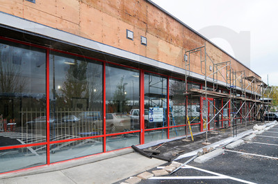 BnK Construction is performing a tenant improvement for Banfield Pet Hospital on Southwest Barbur Boulevard in Portland. The 3,140-square-foot former Hollywood Video store is being outfitted with new floors and finishes, as well as complete exterior improvements including new awnings, roof, stucco, sidewalks, and striping. The 12-week project is slated for completion in mid-November, and is the fifth Banfield Pet Hospital project performed by BnK this year. Design work was done by Boulder, CO-based Animal Arts.