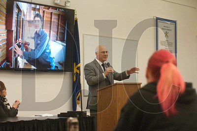 Oregon Labor Commissioner Brad Avakian speaks about the importance of apprenticeship programs and vocational training.